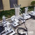 污水处理潜水搅拌器耦合现场安装